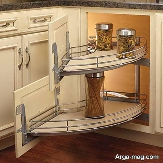 مدل کابینت کنجی آشپزخانه
