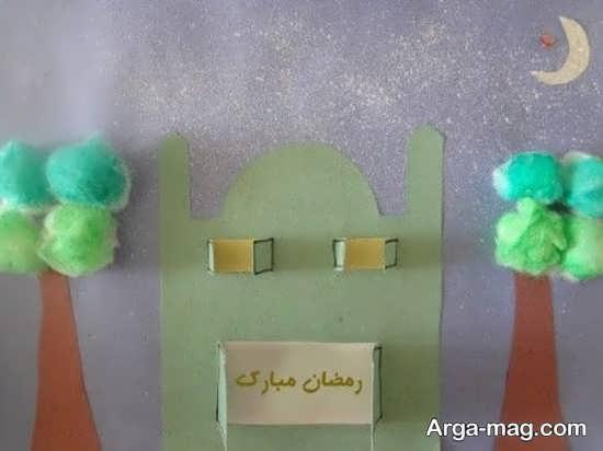 کاردستی زیبای مسجد