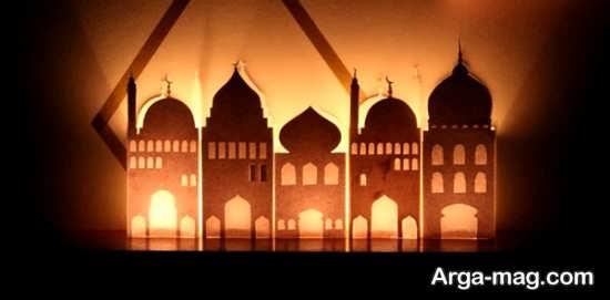 کاردستی خاص و زیبای مسجد