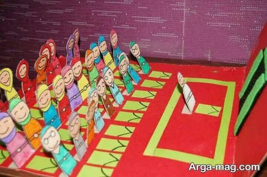 کاردستی نماز جماعت