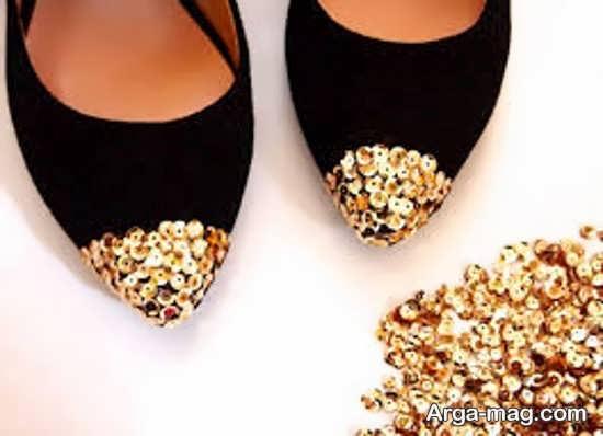 انواع کاردستی با کفش کهنه