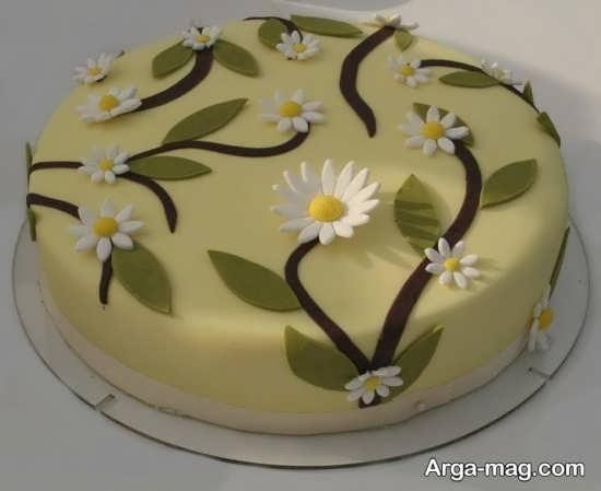 تزیین متفاوت کیک