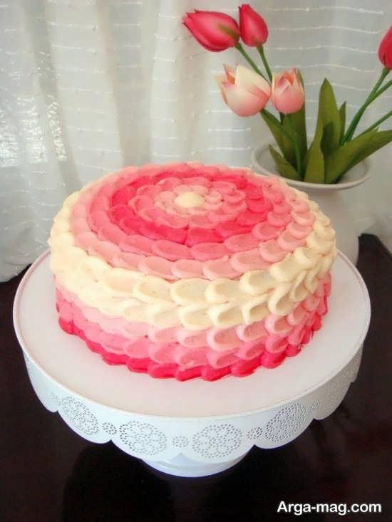 طراحی متفاوت کیک