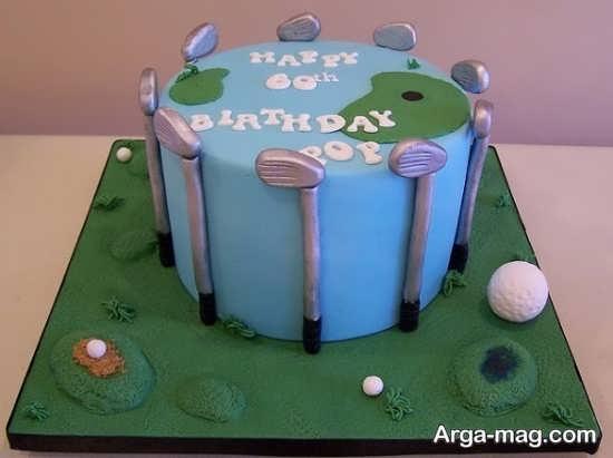کیک با طراحی متفاوت