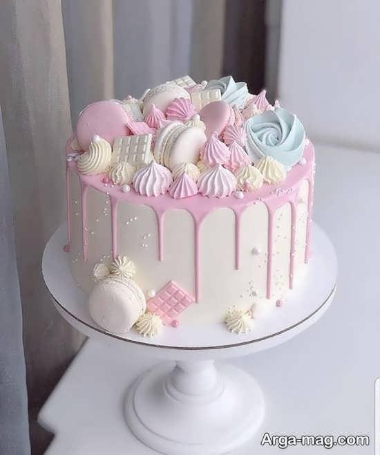 تزیین کیک عروسی با ایده جالب