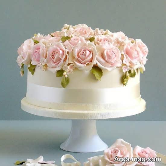 تزیین زیبای کیک عروسی