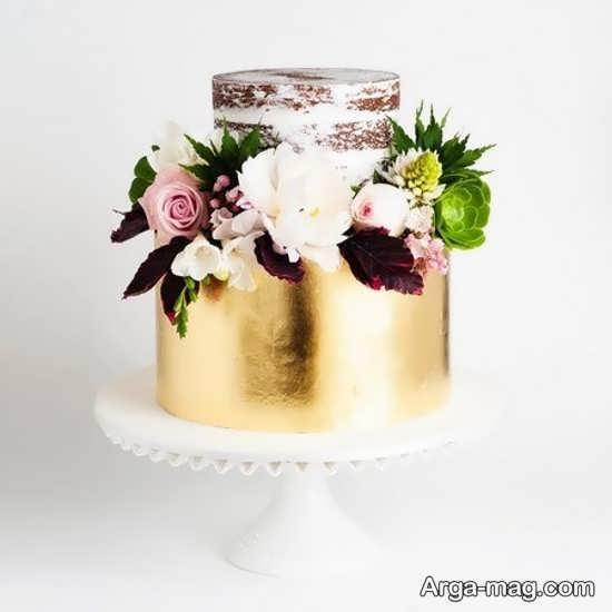 تزیین کیک عروسی به روش خلاقانه