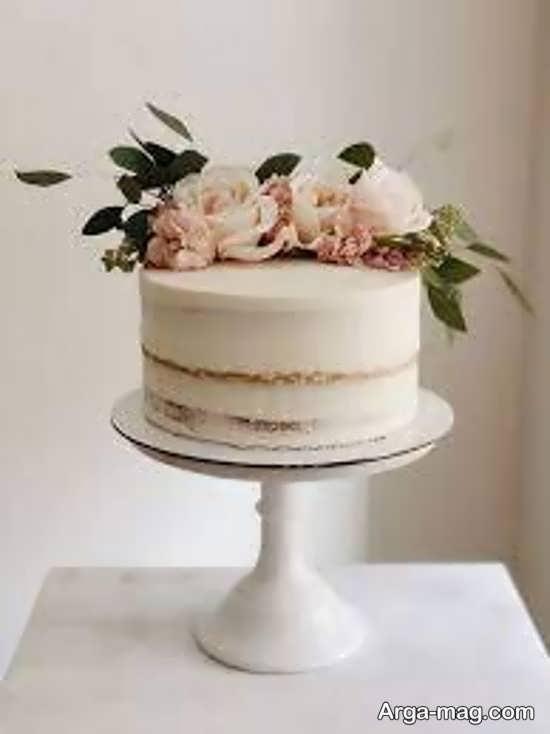 تزیین کیک عروس با ایده شیک