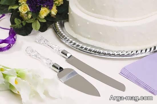 تزیین چاقو برای برش کیک