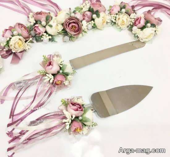 تزیینات زیبای چاقو