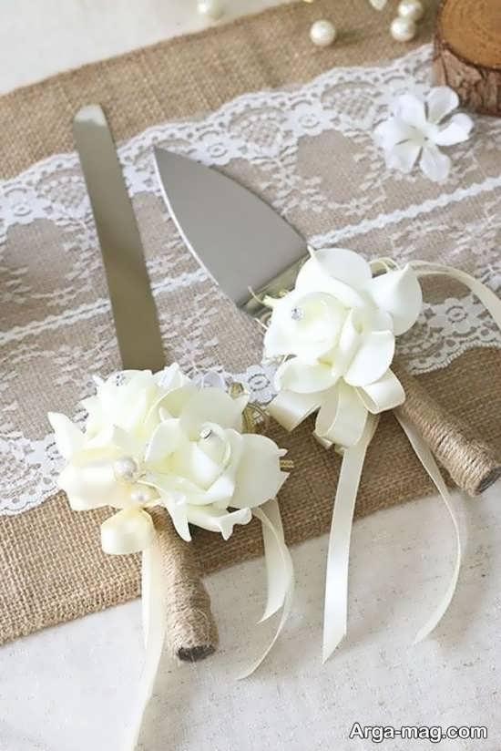 تزیینات شیک چاقوی عروسی