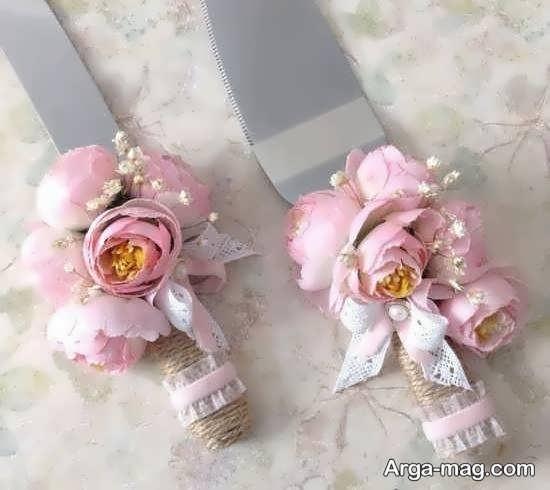 تزئین زیبای کارد عروسی