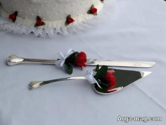 تزیین زیبای چاقو