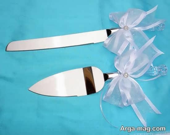 تزیین چاقوی عروسی