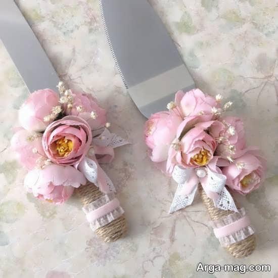 طراحی چاقو با گل