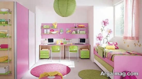 دیزاین جذاب دیوار اتاق