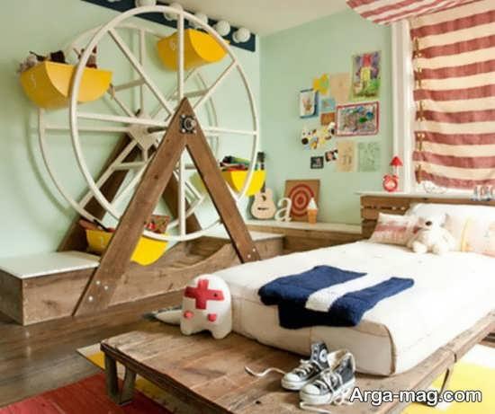 دیزاین لاکچری دیوار اتاق کودک