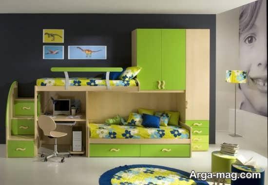 دیزاین شیک اتاق کودک