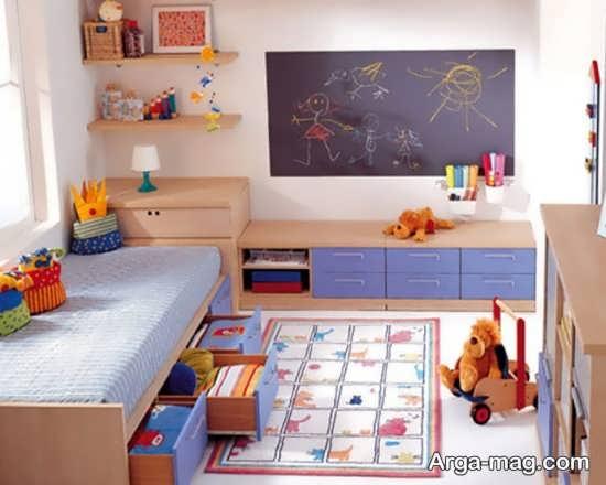 تزیین جذاب و شیک اتاق کودک