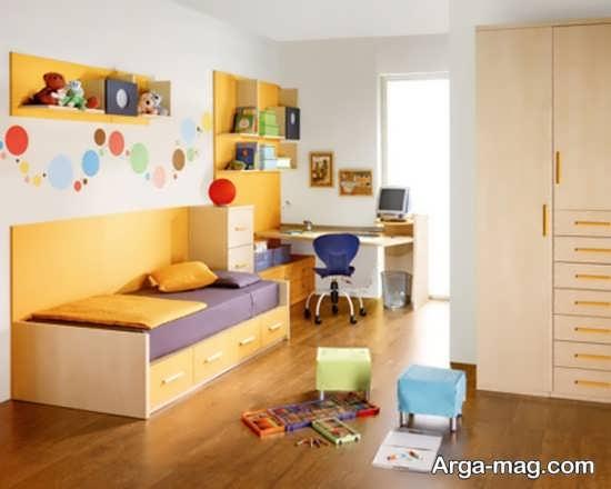 تزیین لاکچری دیوار اتاق کودک