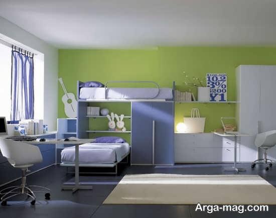 تزیین مدرن اتاق کودک