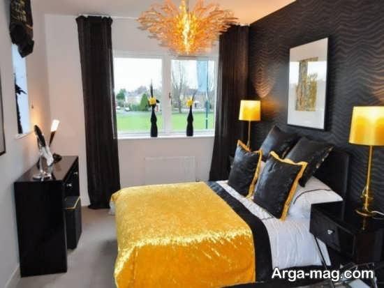 طراحی متفاوت اتاق خواب دو نفره