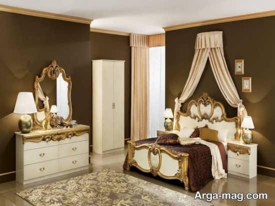 طراحی عالی اتاق خواب دو نفره