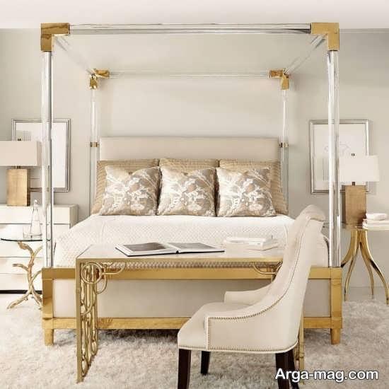 طراحی فوق العاده اتاق خواب دو نفره