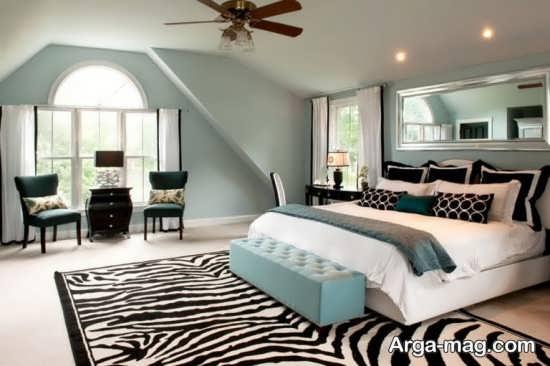 طراحی زیبای اتاق خواب دو نفره