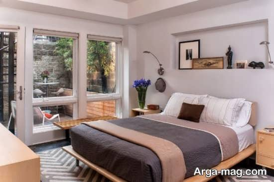 دیزاین شیک اتاق خواب دو نفره