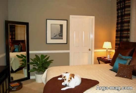دیزاین عالی اتاق خواب دو نفره