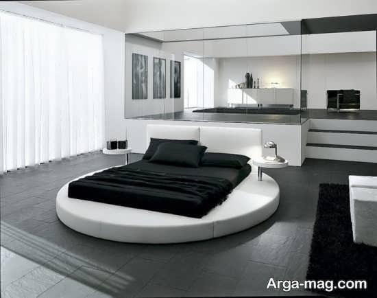 طراحی مدرن اتاق خواب دو نفره
