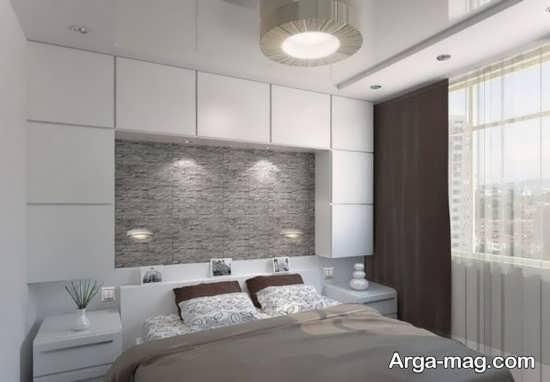 طراحی لاکچری اتاق خواب دو نفره