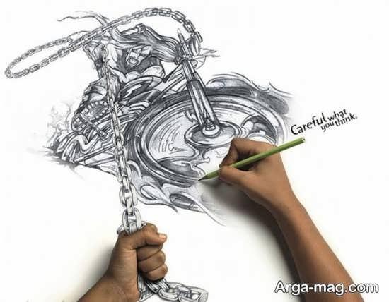 طراحی با سیاه قلم