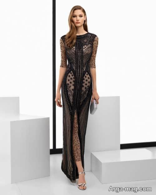 چند مدل لباس دخترانه بلند برای درخشیدن در مهمانی ها