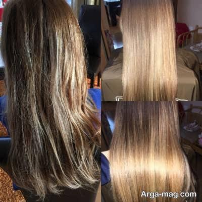 کراتینه کردن موها