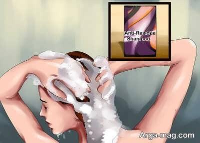 شستن موهای سر