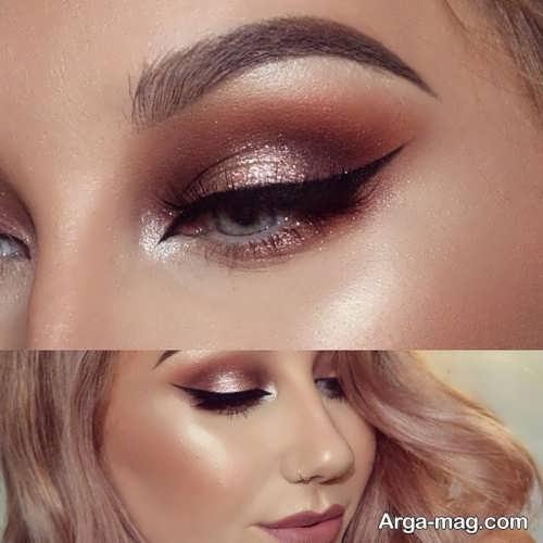 مدل آرایش چشم شیک و زیبا چشم