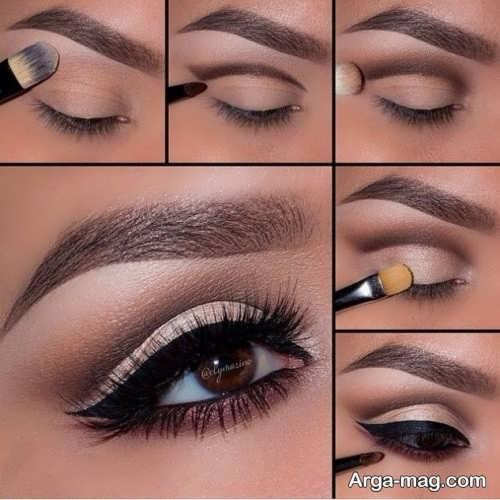 مدل میکاپ چشم زیبا و جذاب