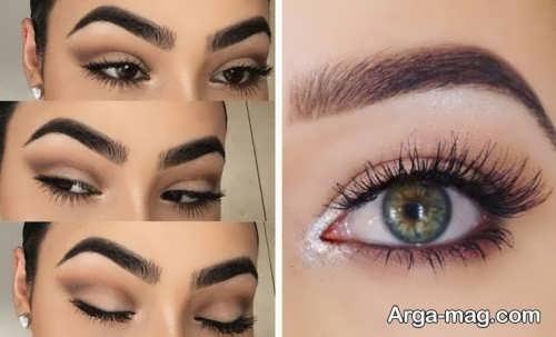 مدل آرایش چشم شیک و بی نظیر