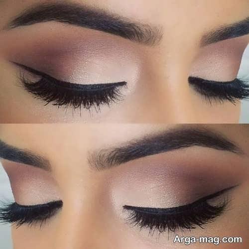 آرایش شیک و زیبا چشم