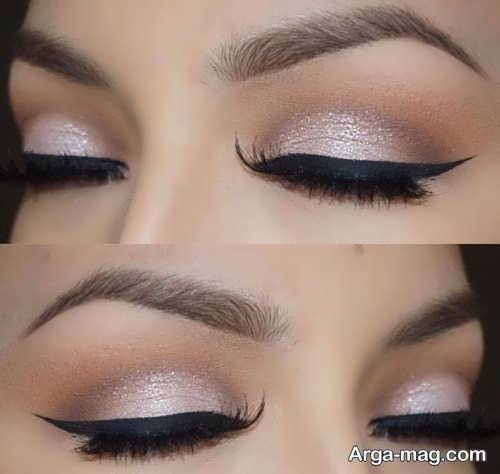 مدل آرایش شیک چشم زنانه