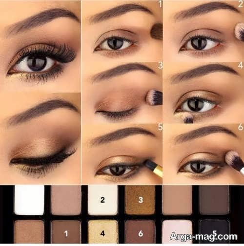 آموزش آرایش مجلسی چشم