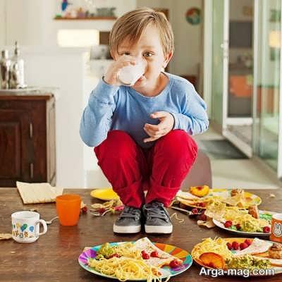 فست فود و چاقی در کودکان