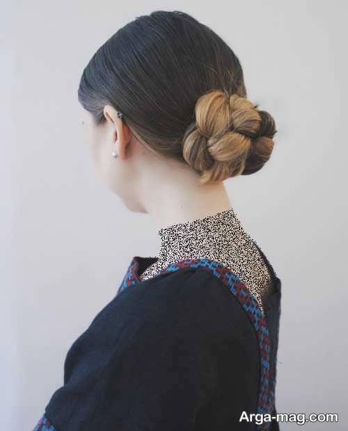 مدل آرایش موی شیک فرانسوی
