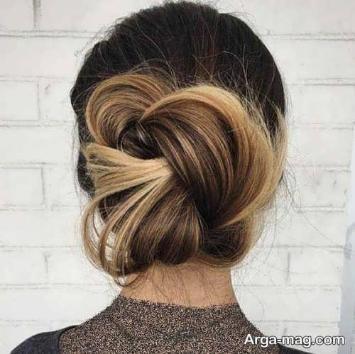 مدل آرایش موی زیبا و شیک فرانسوی
