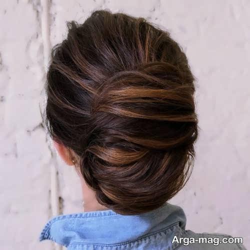 آرایش موی بسته فرانسوی