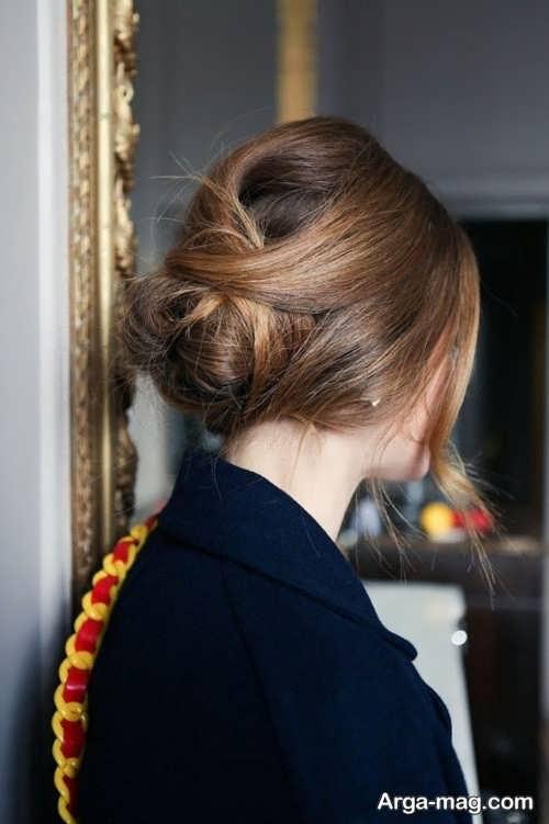 مدل موی بسته فرانسوی