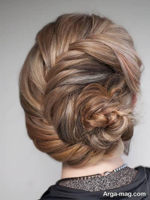 مدل آرایش موی شیک و مجلسی فرانسوی
