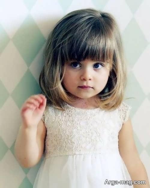 Girls haircuts 11 - جدیدترین انواع مدل موی دختر بچه ها برای موهای بلند و کوتاه